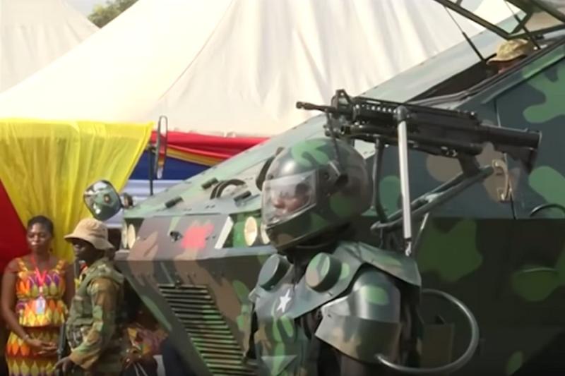 """В столице государства Гана показали """"новинки"""" африканской оборонки"""