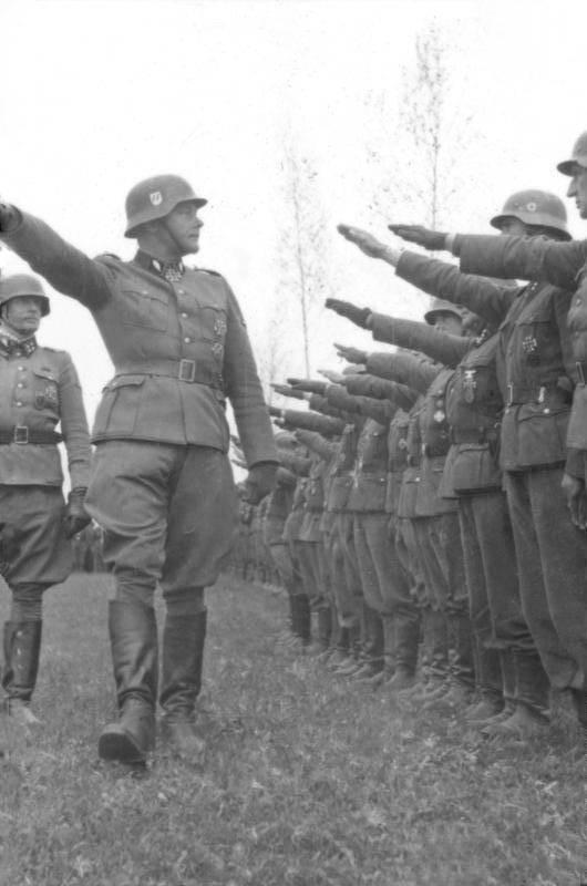 """El mito de los """"pretorianos de Hitler""""."""
