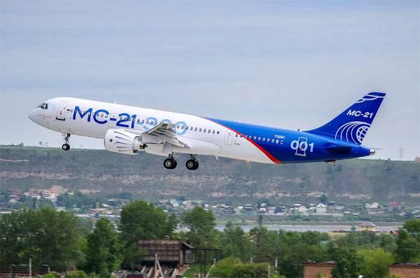 La création de l'avion de ligne MC-21 était menacée par des sanctions