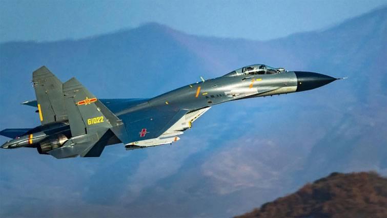 En China, encontramos problemas con el Su-27 y J-11.