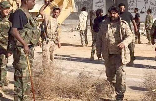 लीबिया में, आतंकवादियों के लिए तुर्की हथियारों की आपूर्ति की घोषणा की