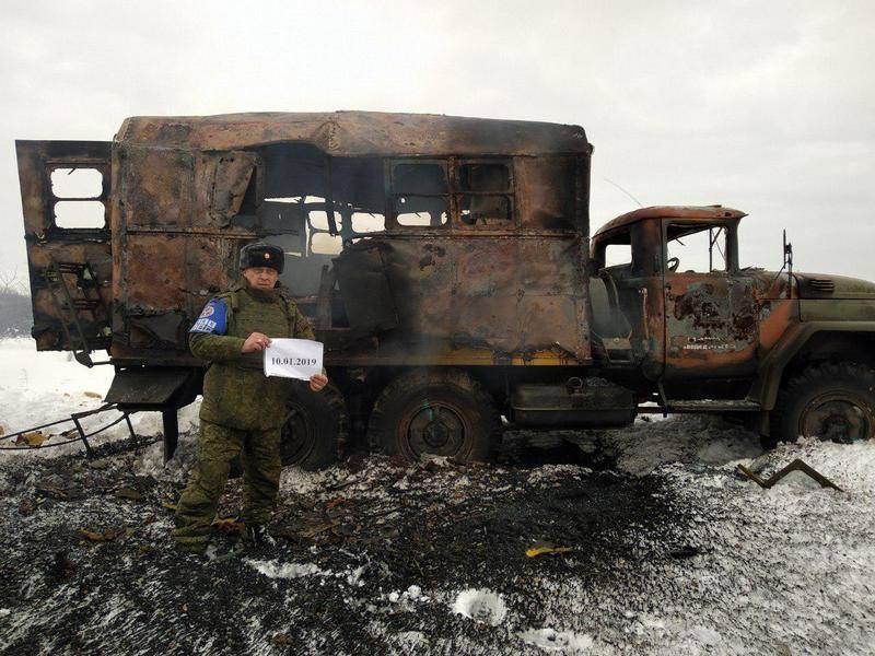 В ДНР киевские силовики обстреляли гражданский автомобиль