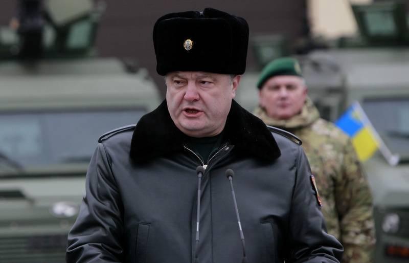 Порошенко пообещал перевести ВСУ на стандарты НАТО уже в 2020 году