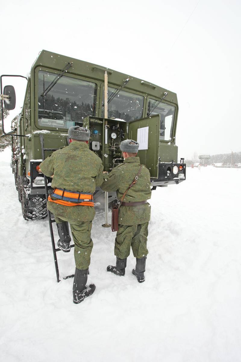 MIOM. 전략 미사일 군대의 기계 공학 및 위장 공학 부분
