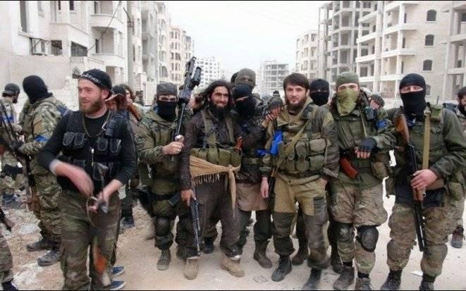 Djihadistes du Caucase dans la guerre en Syrie. Première partie