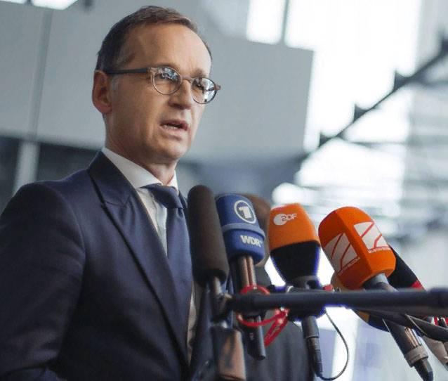 독일은 러시아 미사일의 목표가되고 싶지 않다.