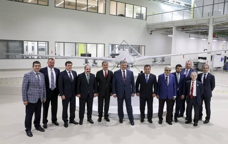 Poroshenko: Turquía pondrá Ucrania seis drone drone