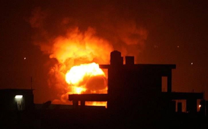 이스라엘은 로켓 발사에 대응하여 가자 지구에서 두 대상을 공격했다.
