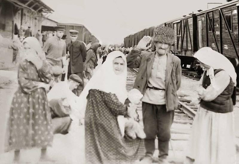 Segreti delle deportazioni. Parte di 1. Ingusci e ceceni
