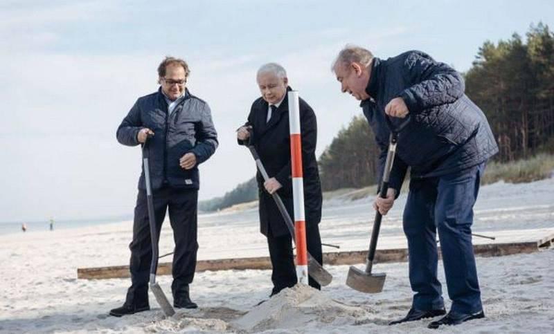 पोलैंड कलिनिनग्राद खाड़ी में द्वीप को धो देगा