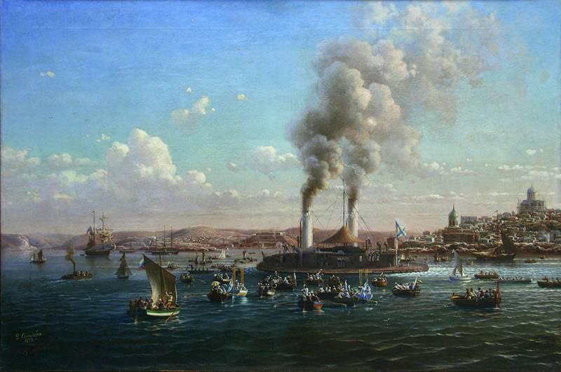 造船所は61共同体にちなんで名付けられました。 ポポフ提督の戦艦