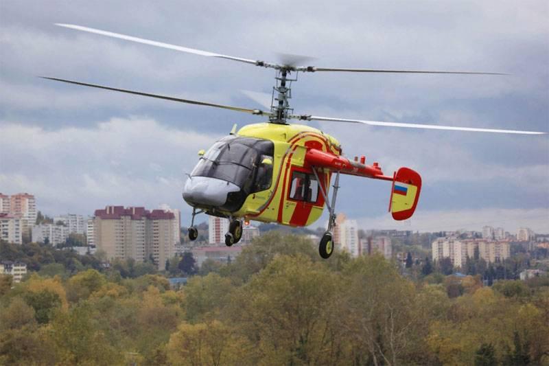 In India, stanno discutendo su chi avrà il diritto di assemblare elicotteri Ka-226T