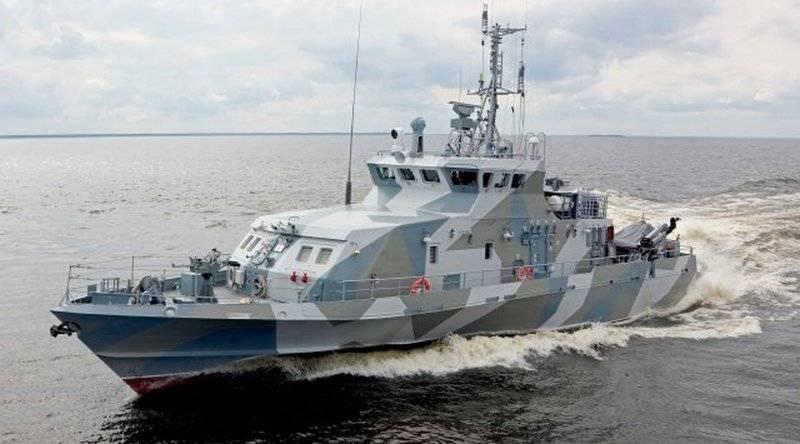 """Le nouveau projet de bateau 21980 """"Rook"""" est entré dans la flotte du Pacifique"""