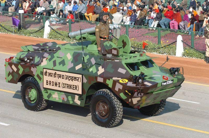 L'armée indienne achètera le Kontresk-M ATGM au lieu du Spike attendu