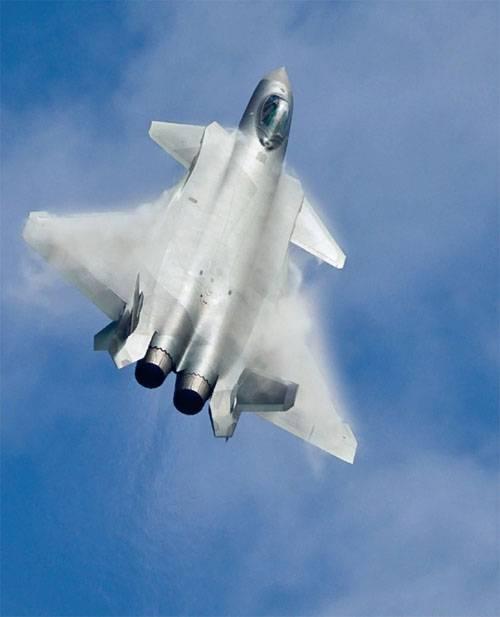 """En China, dijo cuándo J-20 recibirá motores actualizados """"con superweave"""""""