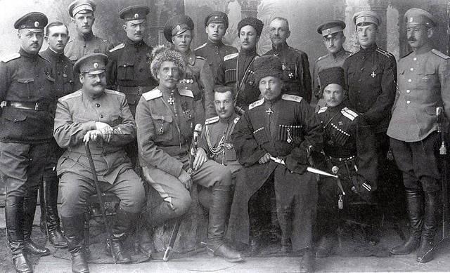 Generales que no traicionaron a Nicolás II