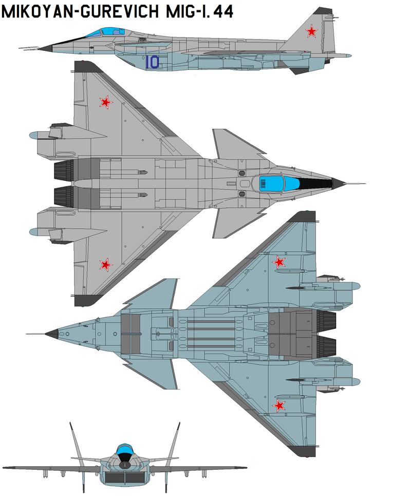 Il combattente sperimentale di quinta generazione MiG 1.44 ha 20 anni
