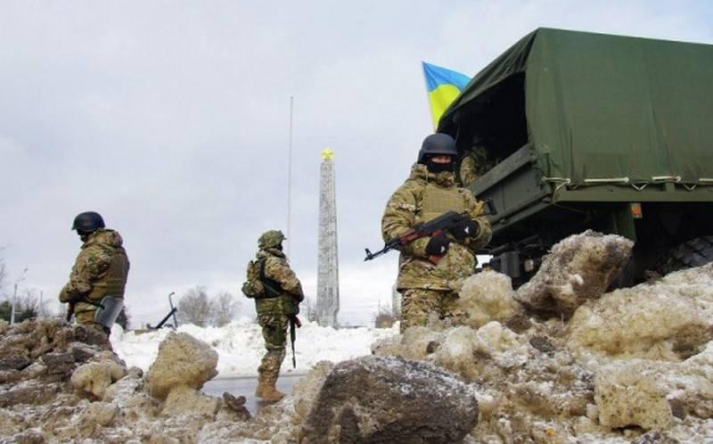 NM LNR: APU exploite des écluses de réservoir dans le Donbass