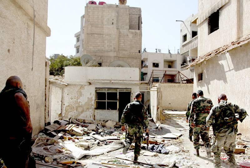 Четверо военнослужащих США погибли при теракте в сирийском Манбидже