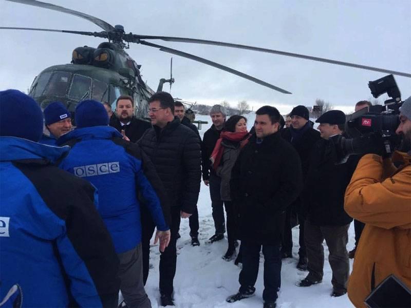 Klimkin a proposé d'introduire des soldats de la paix en Crimée