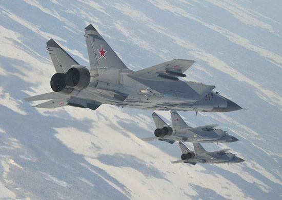 La bataille conventionnelle stratosphérique du MiG-31BM a eu lieu dans la région de Perm