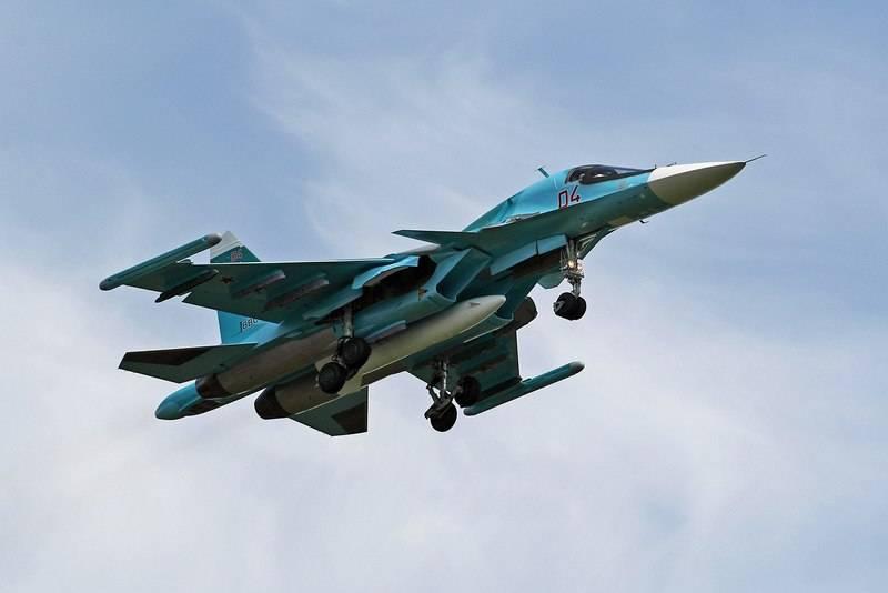 सुदूर पूर्व में, बॉम्बर Su-34 रडार से गायब हो गया