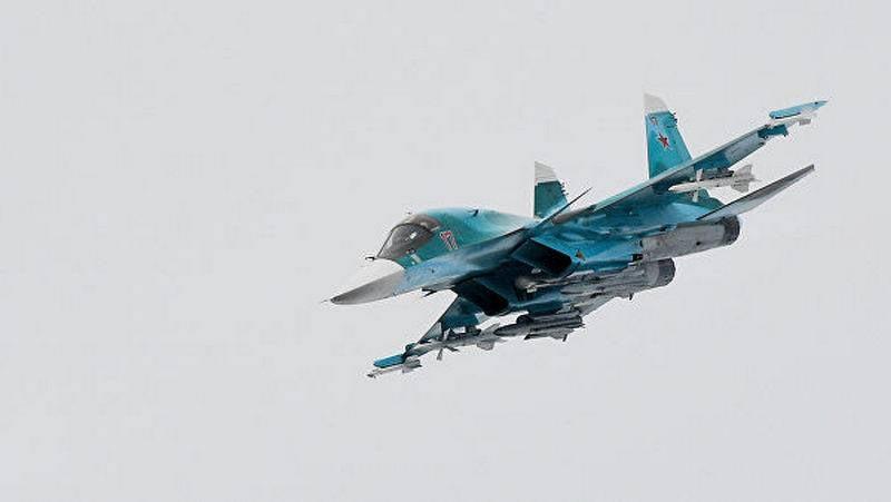 Deux pilotes Su-34 catapultés ont été retrouvés et sauvés.