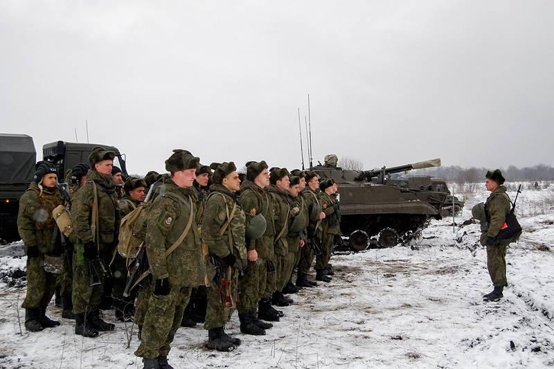 Se realizarán ejercicios militares a gran escala en el territorio de LDNR.