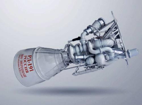 """Su """"Energomash"""" confutare la presenza di difetti nell'RD-191"""