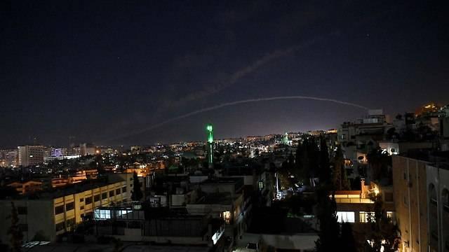 Сирийские ПВО отразили воздушную атаку авиации ВВС Израиля