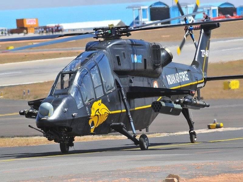 India anuncia el final de las pruebas de helicóptero de ataque LCH