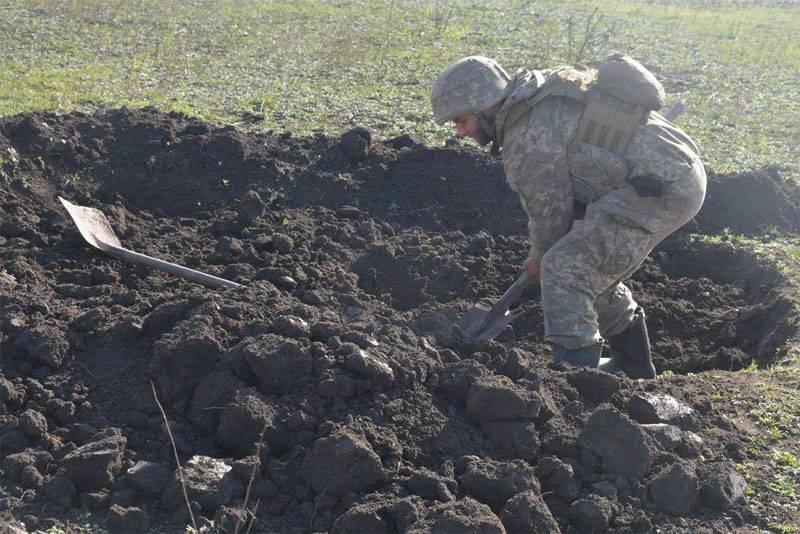 На Донбассе взят в плен пьяный украинский военнослужащий