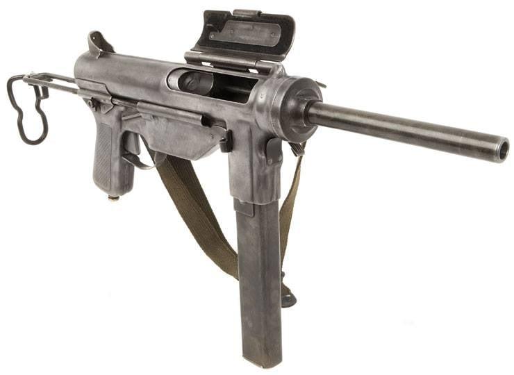 थॉम्पसन के लिए एक सस्ता प्रतिस्थापन: एमएक्सएनयूएमएक्स सबमशीन बंदूक