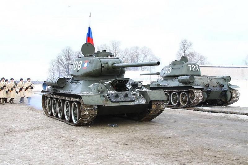 Un batallón separado de T-4 aparecerá en la división 34 th Kantemirovskaya.