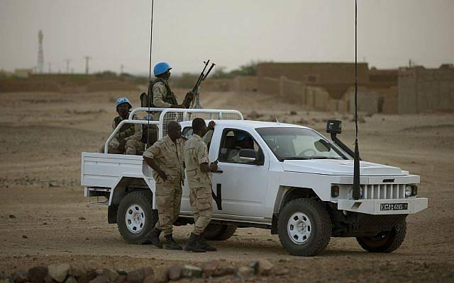 जिहादी माली में संयुक्त राष्ट्र के शांति सैनिकों पर हमला करते हैं