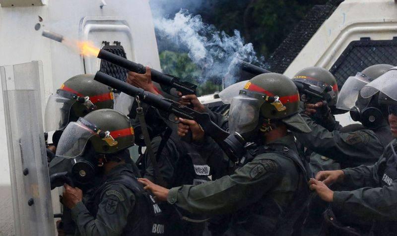 В Венесуэле провалилась очередная попытка мятежа против Мадуро