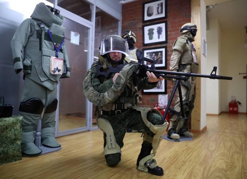 I test di stato dell'esoscheletro russo sono pianificati per essere completati nell'anno 2020