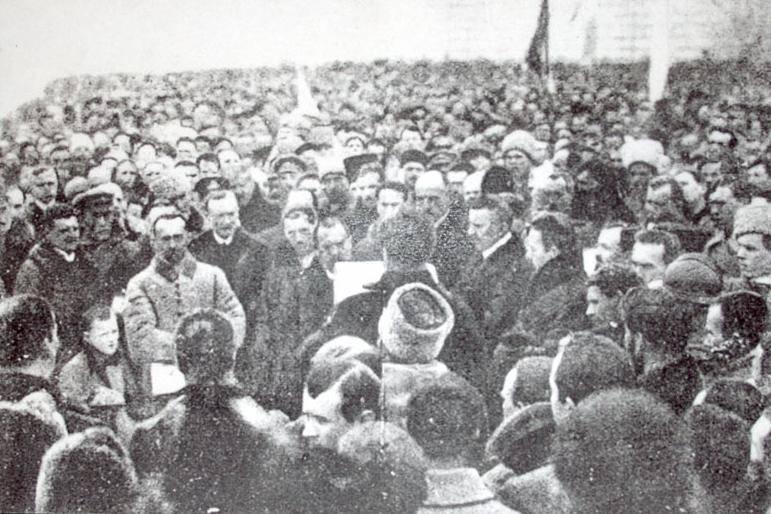 गृहयुद्ध के दौरान नकली यूक्रेनी राज्य। 1 का हिस्सा