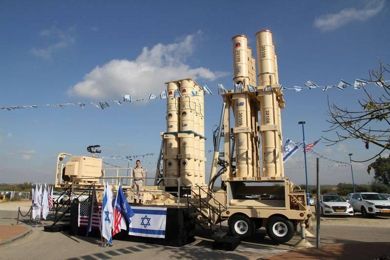 इज़राइल में पारित हेट्ज़-एक्सएनयूएमएक्स मिसाइल रक्षा परिसर का सफल परीक्षण
