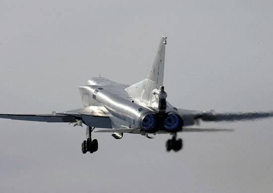 Tu-22М3이 두 번째 라운드 또는 대체 비행장에 가지 않은 이유