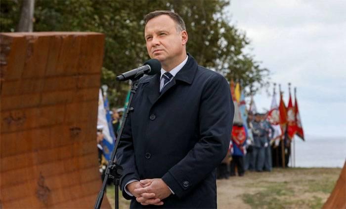 Andrzej Dude a rapporté sur une tentative d'intrusion dans le palais présidentiel