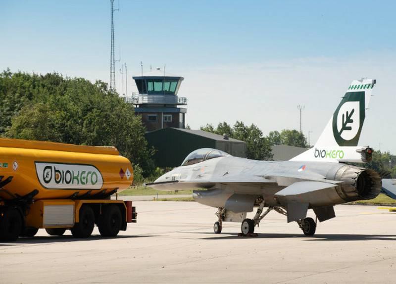 I combattenti dell'aeronautica olandese voleranno con i biocarburanti