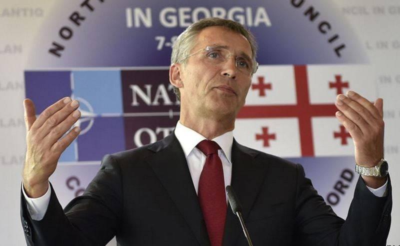 Stoltenberg a promis à la Géorgie de renforcer la présence de l'OTAN dans la mer Noire
