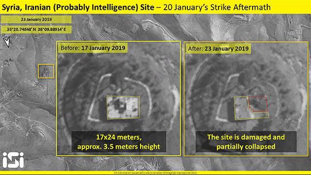 Israel informó sobre la destrucción del radar chino JY-27 y la base iraní en Siria