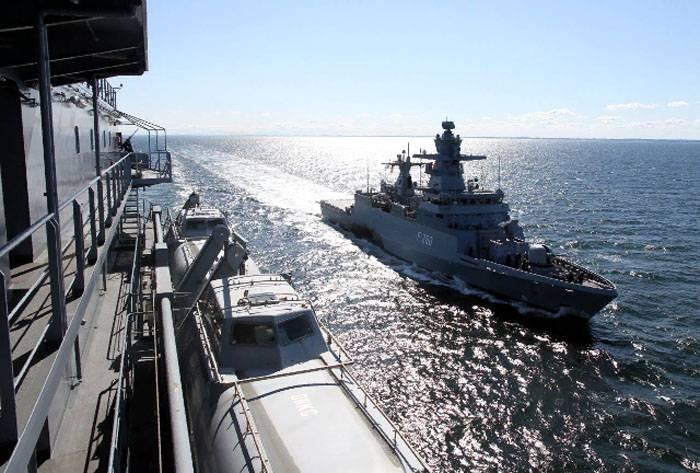 ФРГ снова рассматривает Балтику как потенциальный театр военных действий