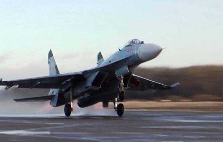 Российский Су-27 был поднят в воздух для перехвата шведского самолёта