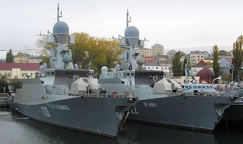 La flotta del Mar Nero sarà rafforzata da due sistemi missilistici del progetto Buyan-M