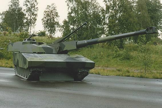 Le char suédois Stridsvagn-2000 pourrait-il faire face au Armata T-14?