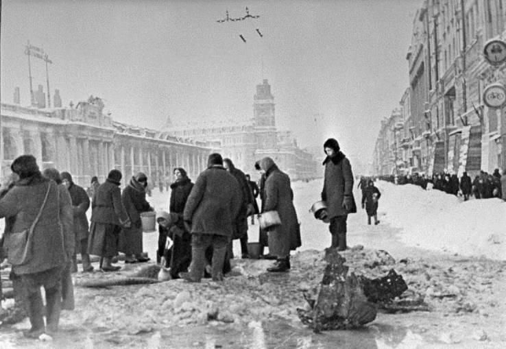El Ministerio de Defensa de la Federación Rusa desclasificó documentos relacionados con el bloqueo de Leningrado