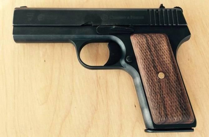 Armas cortas civiles en Rusia. Parte de 2